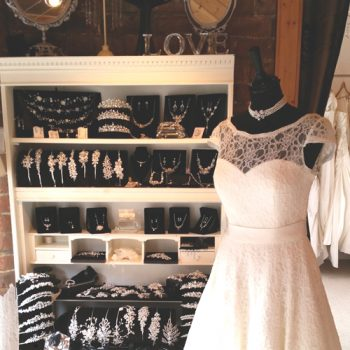 Bridal boutique accessories